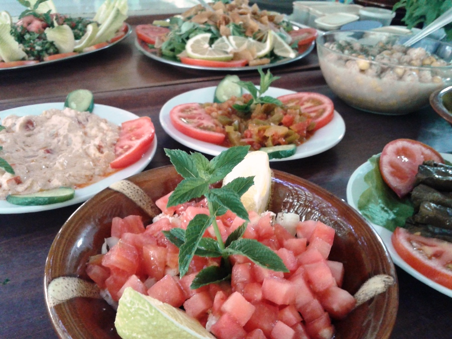 A glance at Therese and Tony's mezze
