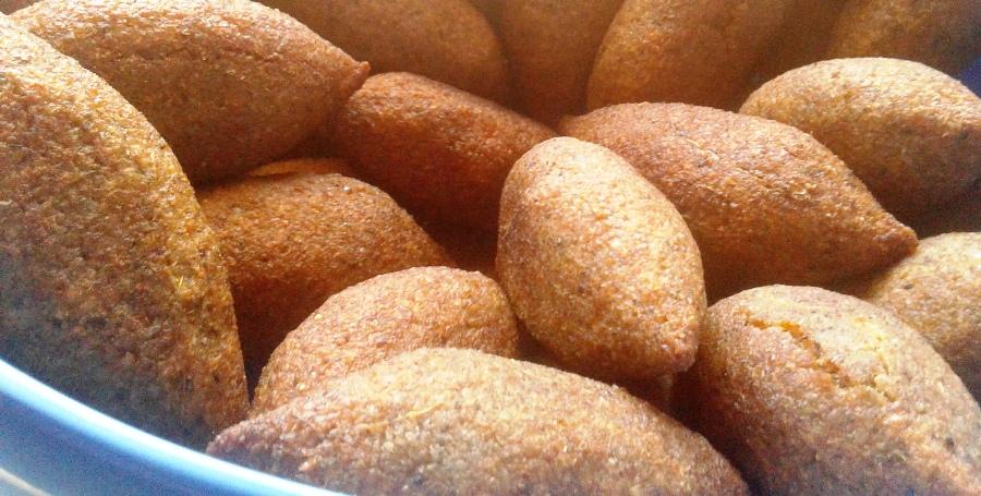 Akkoub kebbeh (Eryngo) one of Elissar's specialties