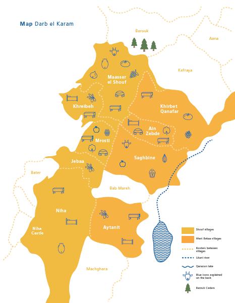 darb el karam-map