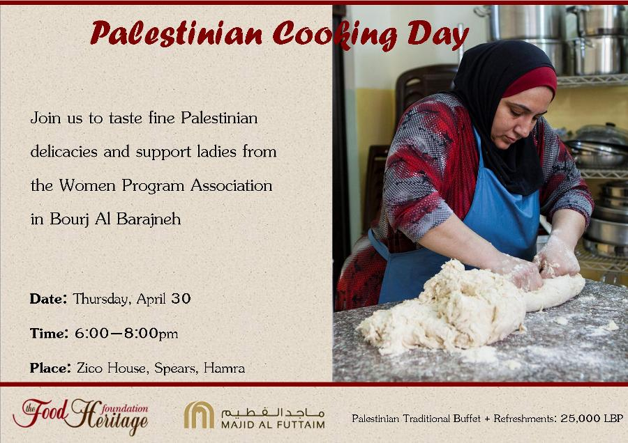 Palestinian cooking day_flyer