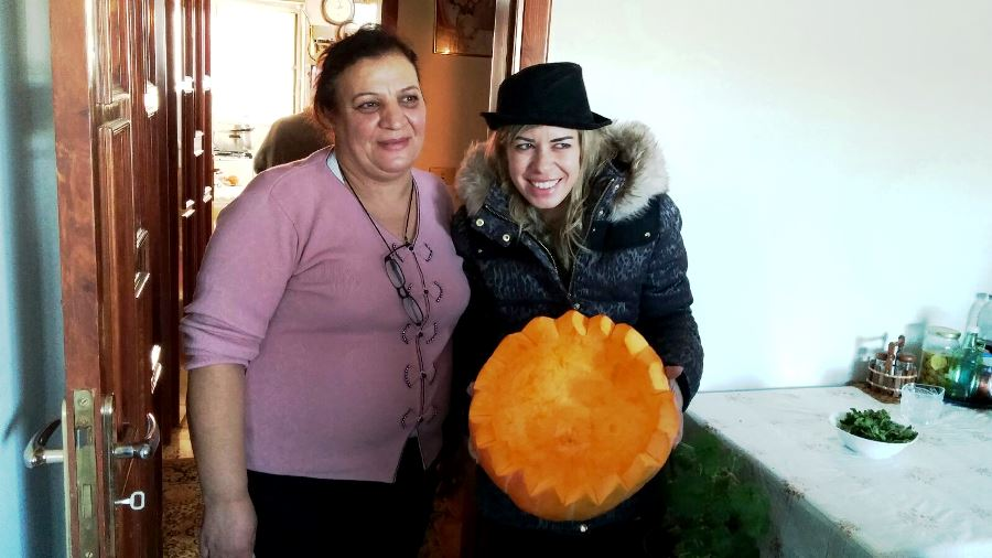 At Lina's table, it was all about pumpkin!