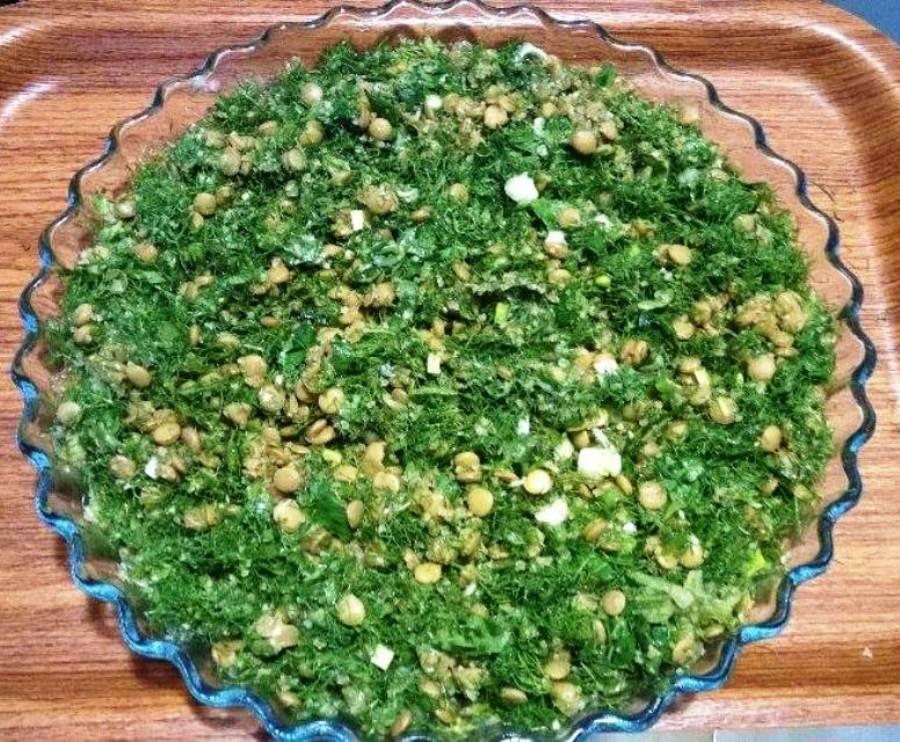 Fresh fennel tabbouleh