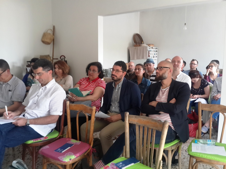 Participants during the lecture