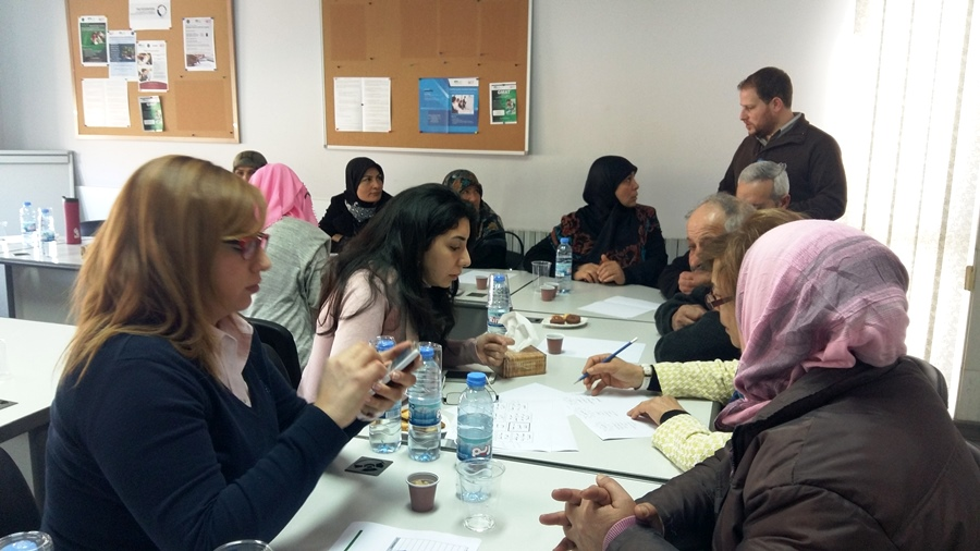 The participants were divided in working groups, according to their region and the type of milk they used in Ambarees production