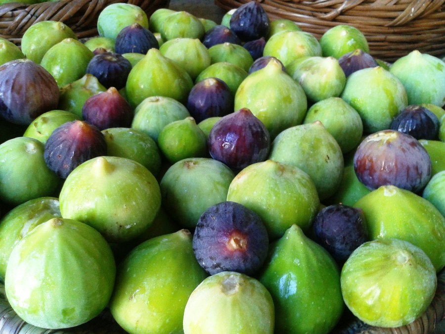 Green and black figs make delicious jams