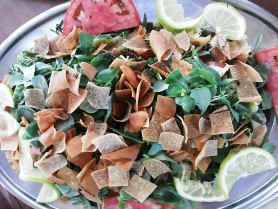 """Fattoush """"king of the table""""!"""