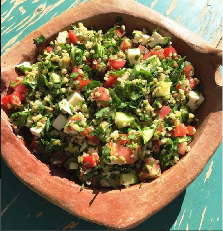 Freekeh salad by Chef Joe Barza