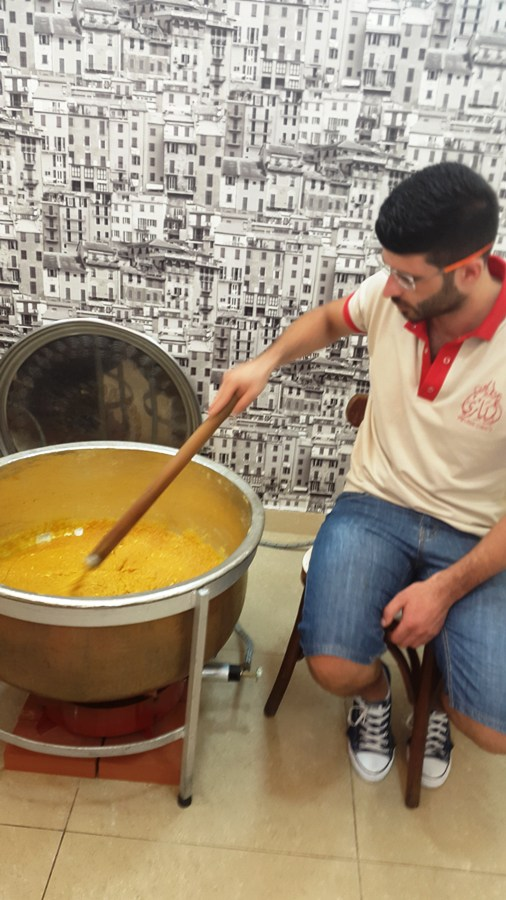 Mohammad, preserving the Moufataka traditional making