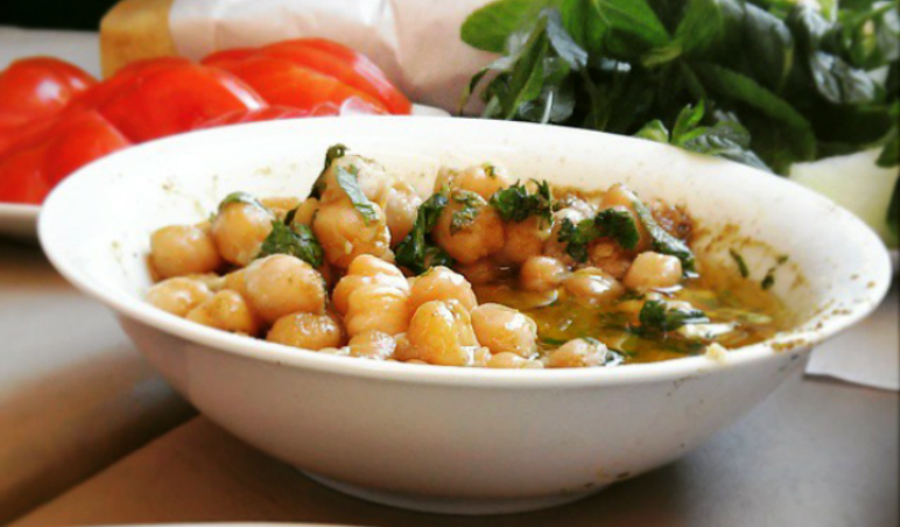 Chickpeas are rich in iron, magnesium and vitamin B6