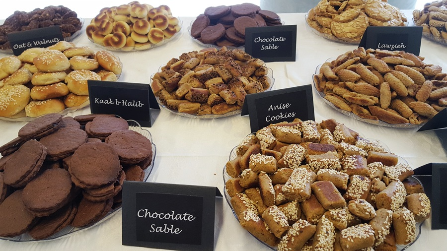 A selection of healthy cookies and sweets